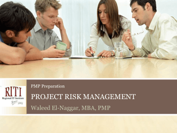 PMP Preparation Project Risk Management Book, Download Free Templates
