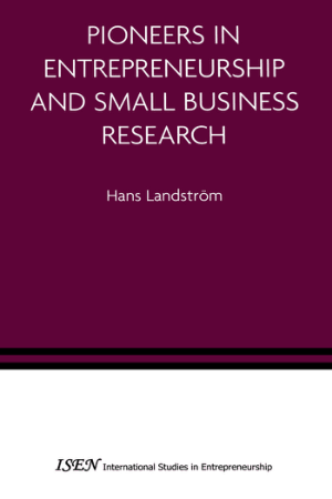 Pioneers In Entrepreneurship And Small Business Research Book, Download Free Templates