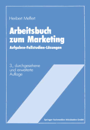 Prof Dr Heribert Meffer Arbeitsbuch zum Marketing Book, Download Free Templates