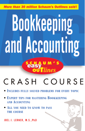Schaum Easy Outline Bookkeeping and Accounting Book, Download Free Templates