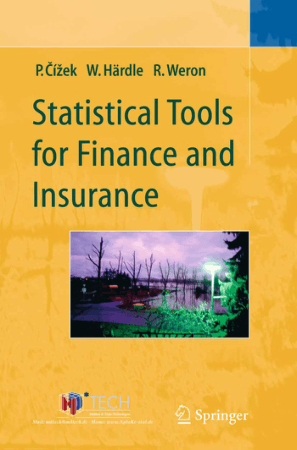 Statistical Tools for Finance and Insurance by Pavel and Weron Book, Download Free Templates
