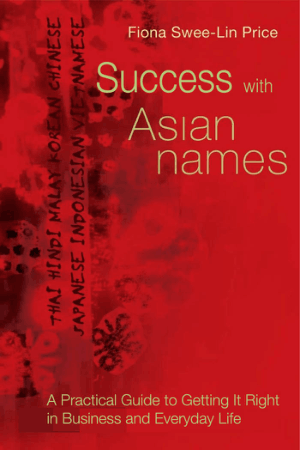 Success With Asian Names Book, Download Free Templates
