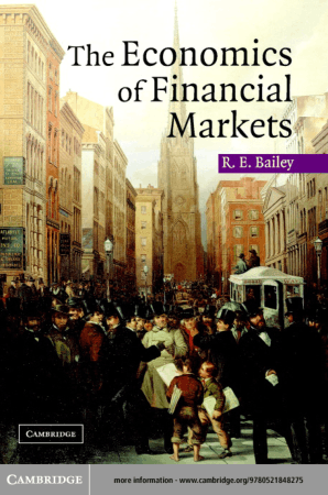 The Economics of Financial Markets Book, Download Free Templates
