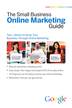 The Small Business Online Marketing Guide Book, Download Free Templates