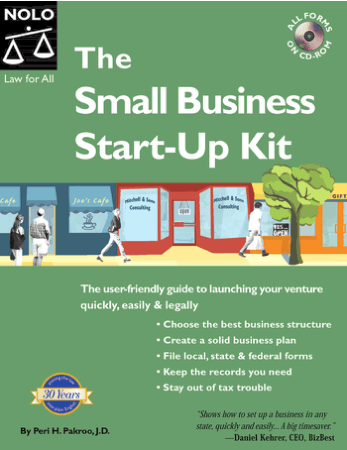The Small Business Start Up Kit Book, Download Free Templates