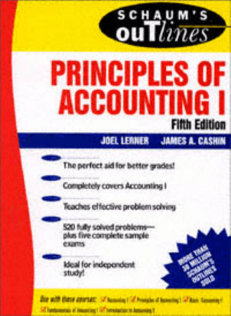 Theory and Problems of Principles of Accounting I 5th Edition Book, Download Free Templates