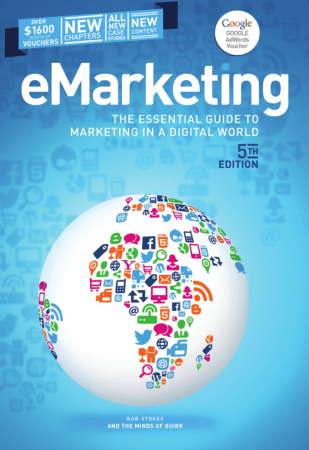 eMarketing 5thE Book, Free Vector
