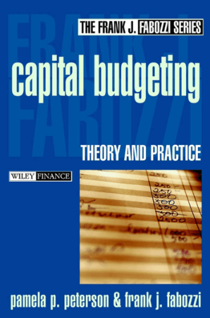 Capital Budgeting Theory and Practice Book Free Templates
