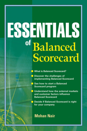 Essentials of Balanced Scorecard Book Free Templates