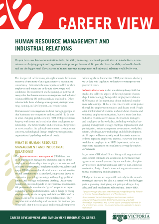 Human Resource Management And Industrial Relations Book Free Templates