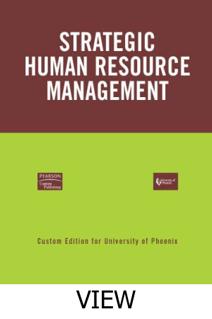 Strategic Human Resource Management View Book Free Templates
