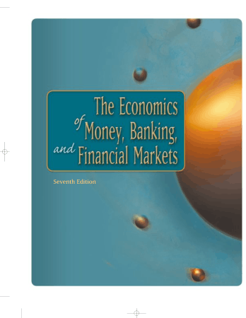 The Economics Of Money Banking And Financial Markets Book Free Templates