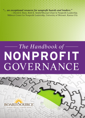 The Handbook of Nonprofit Governance Book Free Templates
